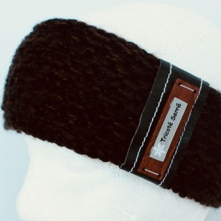 Headband : Brown and black with gloss